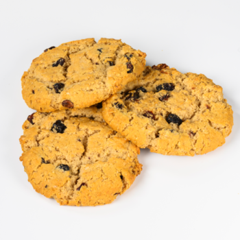 Crumbly Raisin Cookies