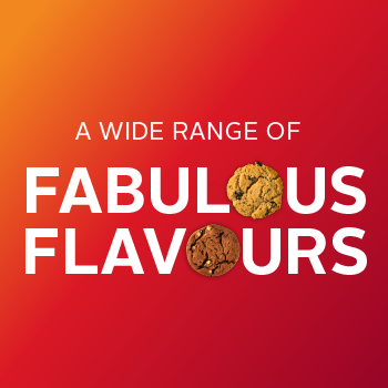 A wide range of fabulous flavours